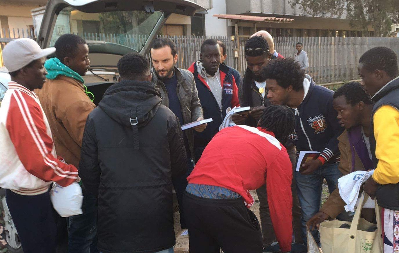 MINISTRY AMONG REFUGEES, by DANIELE LOREFICE (YOUTH ADVISORY COMMITTEE MEMBER)