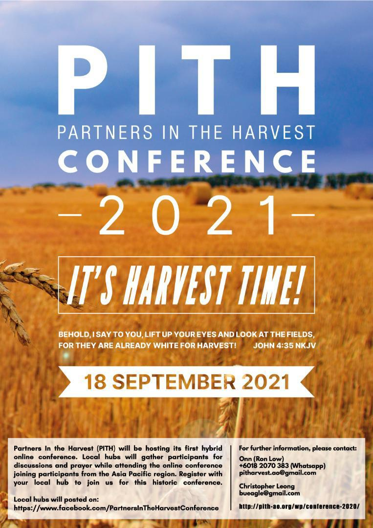 ASIA-PACIFIC, PITH REGIONAL VIRTUAL CONFERENCE