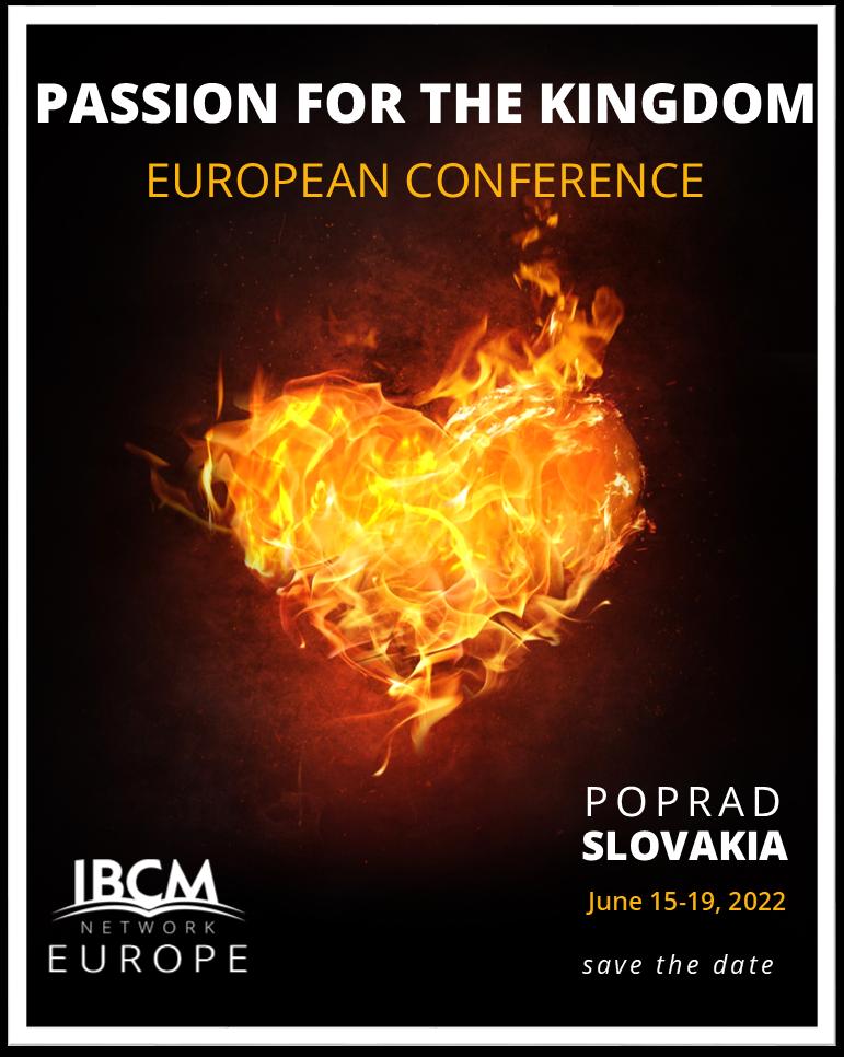 EUROPEAN CONFERENCE – SLOVAKIA, JUNE 15 – 19, 2022