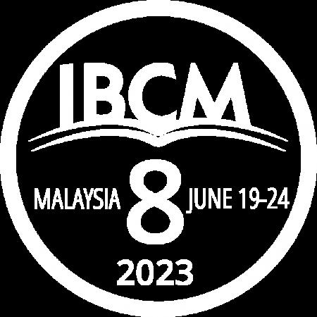 IBCM8 White Logo